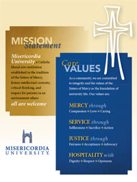 Download the Mission Statement and Core Values Flyer
