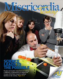 MU Today Winter 2011 front cover - Click to here to download a complete version in .pdf format
